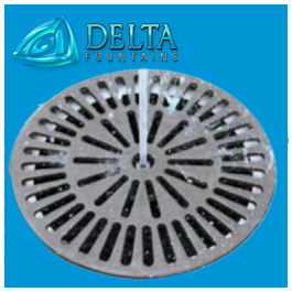 Delta Fountains Round Sump Grate