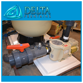 Delta Fountains Sand Filter Automatic Backwash