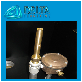 Delta Fountains Smooth Bore in Sump