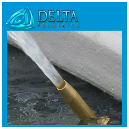 Delta Fountains Smooth Bore Nozzle