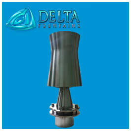 Delta Fountains Stainless Steel Geyser Nozzle