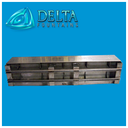Delta Fountains Stainless Steel Trough