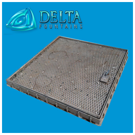 Delta Fountains Tile Set Hatch Vault