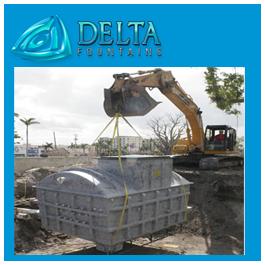 Subterreanean Equipment Vault Installation