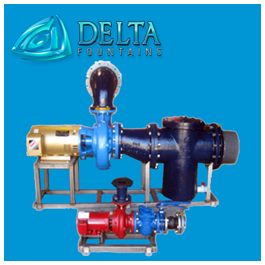 Delta Fountains Water Feature Pump Skid