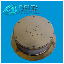Delta Fountains custom ground effect sump