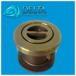 Vacuum Fitting with Flush Plug | Delta Fountains