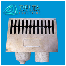 Open Pipe Float WLS with Sidewall Sump Grate