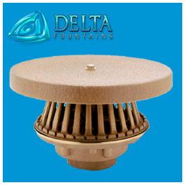Delta fountains Suction Fitting Bronze