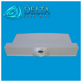 Delta fountains sheet bar assembly