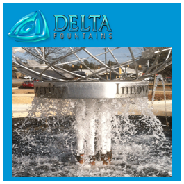 Delta Fountains Nozzle Cluster