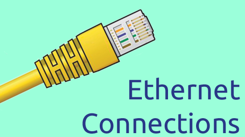 Ethernet Connections For Remote Fountain Control Access