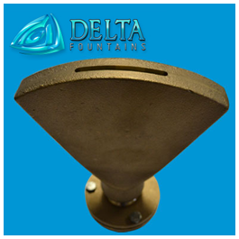 Bronze Flood Fan Jet Nozzle