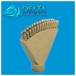 Finger Jet Nozzle Delta Fountains