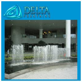 Linear Pool Spray Bar Fountain