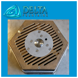 Floor Activator Sump Bollard | Delta Fountains
