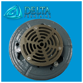 Floor Drain Fitting Powder Coated
