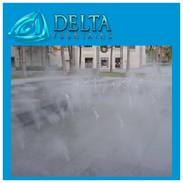 Fog Feature | Delta Fountains