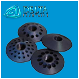 Flanged Vari-Jet Synthetic Discs
