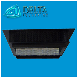 Powder Coated Anti-Vortex Plate | Delta Fountains
