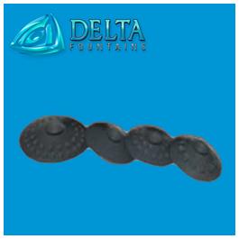 Synthetic Discs for Threaded Vari-Jet Nozzles