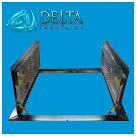 Fountain Vault Double Door Aluminum Hatch