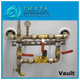 Fountain Vault Water Makeup Assembly