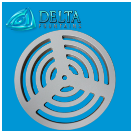 HDPE Drain Sump Grate | Delta Fountains