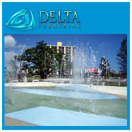 Hollywood Florida Fountain Young Arts Park