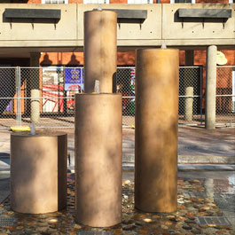 Inn Street Interactive Fountain