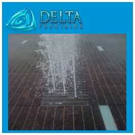 Interactive Fountain Pad and Grates