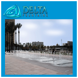 Interactive Water Feature Delta Fountains Trough