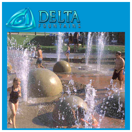 Interactive Water Feature Ground Effect Nozzle