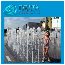 Interactive Water Feature Nozzle