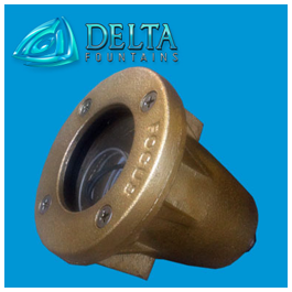 LED Cast Bronze Light Delta Fountains