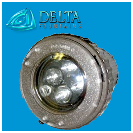 Submersible LED Light Round