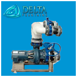 Manufactured Water Feature Pump Skid
