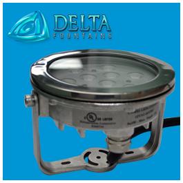 Medium Freestanding LED Fountain Light