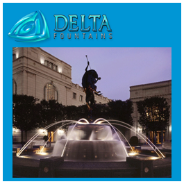 Nashville TN Fountain Nozzle Delta Fountains