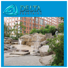 Natural Rock Water Feature