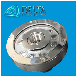 Submersible LED Ring Light | Delta Fountains