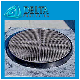 Nickel Plated Bronze Grate Quarter Round