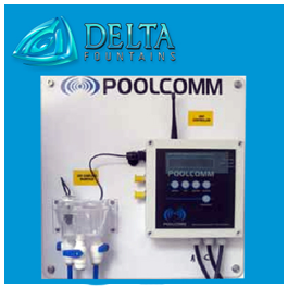 ORP pH Controller Delta Fountains
