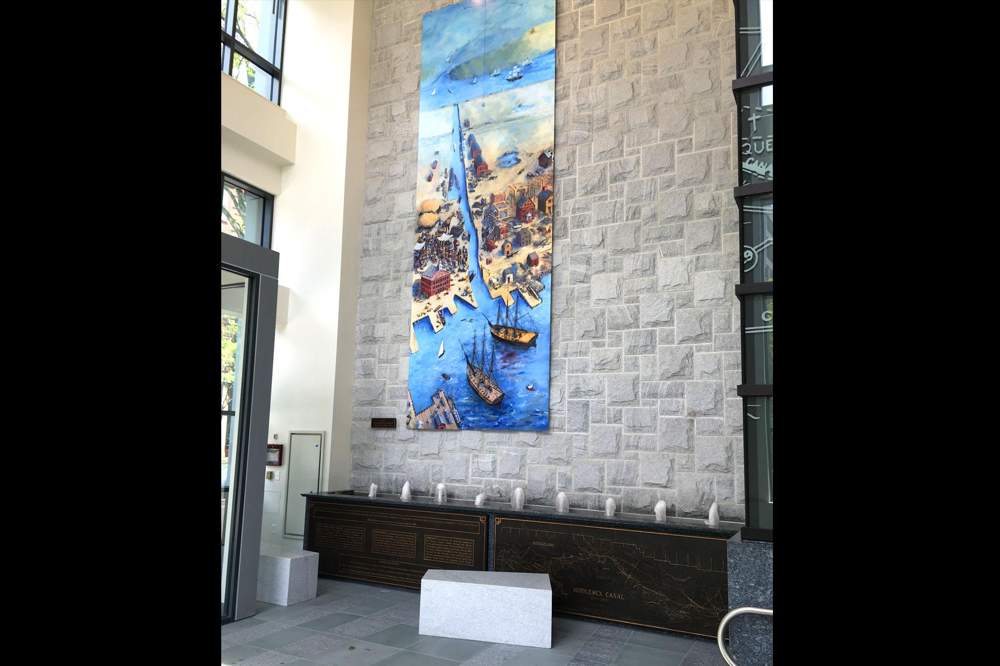 One Canal Boston Lobby