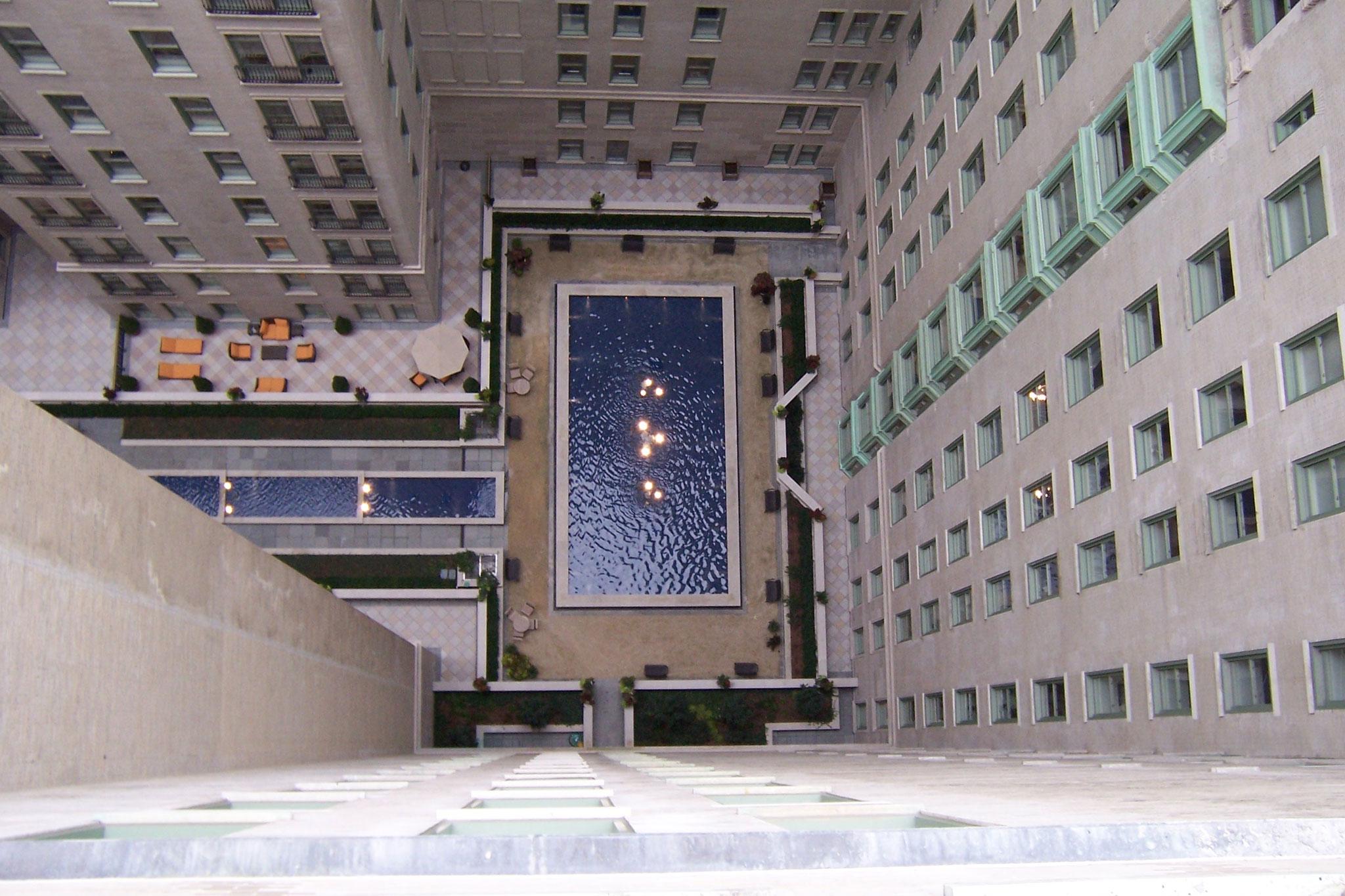 Plaza Hotel Hidden Courtyard