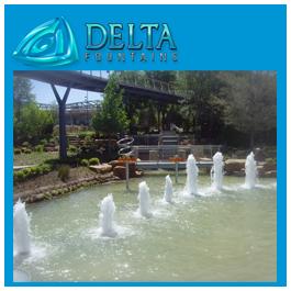 Pond Geysers Dallas Arboretum