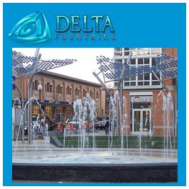 Pop Jet Interactive Community Fountain