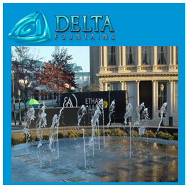 Pop Jet Splash Pad Fountain