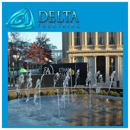 Pop Jet Splash Pad Fountain
