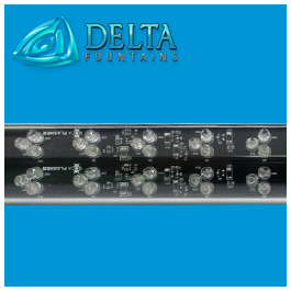 RGB LED Linear Waterproof Light | Delta Fountains